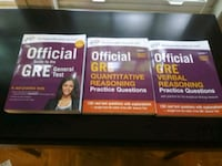 GRE Official Study Guides New Arlington, 22205
