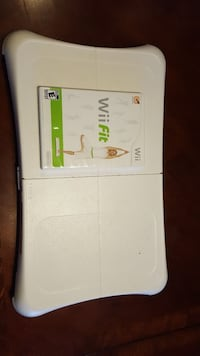 Wii Fit, board and disc