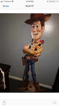 Toy story woody cut out