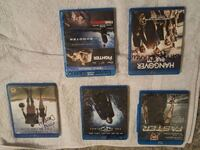 Blue Ray for all 5 asking 20