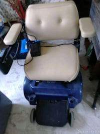 blue and black motorized wheelchair Raleigh, 27615