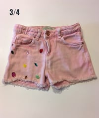 Size 3-4  Zara Shorts in Excellent Condition Montréal, H4M 0A1