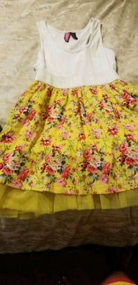 women's pink and yellow floral dress Allegan, 49010
