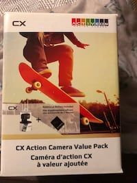CX Action Camera Value Pack still in box. Innisfil, L9S 1W9