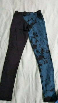 Blue black leggings  Victoria, V9A 4B1