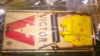 Victor wide trigger USA mouse traps Burnaby, V5C 5S7