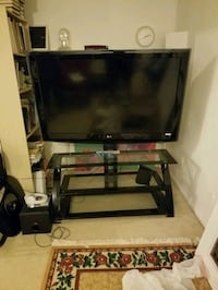 LG 55 inch flatscreen with tv stand