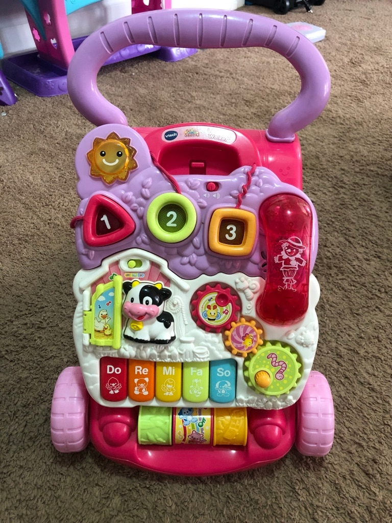 Photo Vtech Sit to Stand Learning Walker