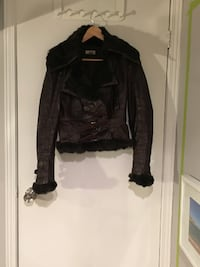 LIST Brown Leather Jacket Toronto