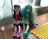 To Monster High dukker Valderhaugstranda, 6050
