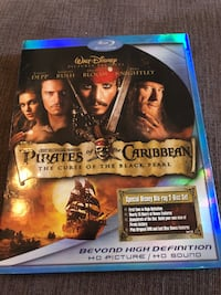 BluRay- The Curse of the Black Pearl- Pirates of the Caribbean Arlington, 22204