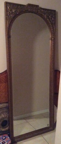 Large Florentine Gold Mirror -my loss is your gain Daphne, 36526