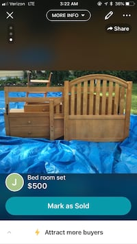 Solid twin bunk beds with storage and dresser. Beds can be used as single twin beds too Bridgeport, 06606