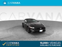 2018 *Ford* *Mustang* EcoBoost Convertible 2D Convertible Black Phoenix
