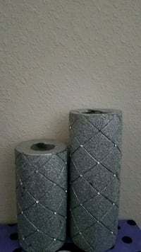 Silver glitter candles  Katy, 77493
