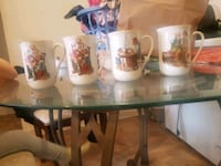 Collectibles Santa grandpa cups Ottawa, K1Z 8H8
