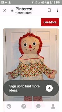 Raggedy Ann sleeping bag Baldwinsville, 13027