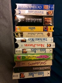 Lot of 22 vhs movies