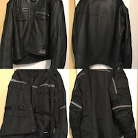 Icon 3XL Leather Jacket and 3XL Cold Weather Jacket. Price is negotiable   Stafford, 22554