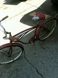 Older Schwinn. Red and white needs TCL. Classic. Imperial, 15126