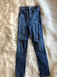 Top shop high waisted jeans
