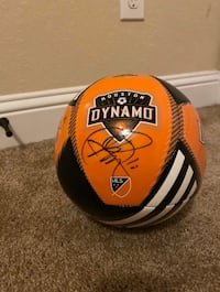 Houston dynamos signed ball
