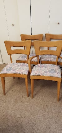Vintage Heywood Wakefield DogBone Dining Chairs
