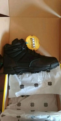black SWAT boots. Mens size 10  Cambridge