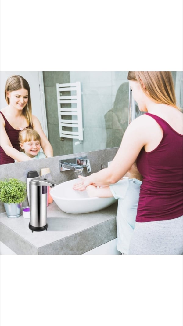 Automatic Soap Dispenser Stainless Steel New - cheaper than Amazon 0a8a5b92-aa10-4bbb-b4f9-16567c2d789a