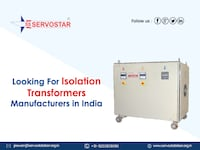 Looking for Best Isolation Transformers Manufacturers in India NEWDELHI