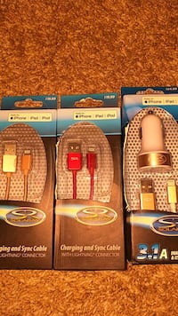 Brand new iPhone iPad iPod charger chargers cords Hebron, 41048
