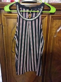 black and white stripe sleeveless dress Los Angeles, 91331