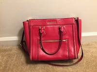 red leather 2-way handbag Reston, 20194