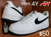 Air Force 1 blk/wht low sneakers NEW Lansing