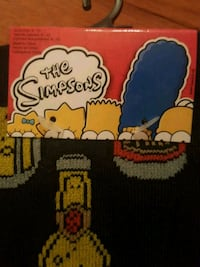 Simpsons socks