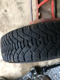 Snow tires set of 4 with rim.  Toronto, M6L 2X1