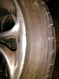 vehicle tire 592 km