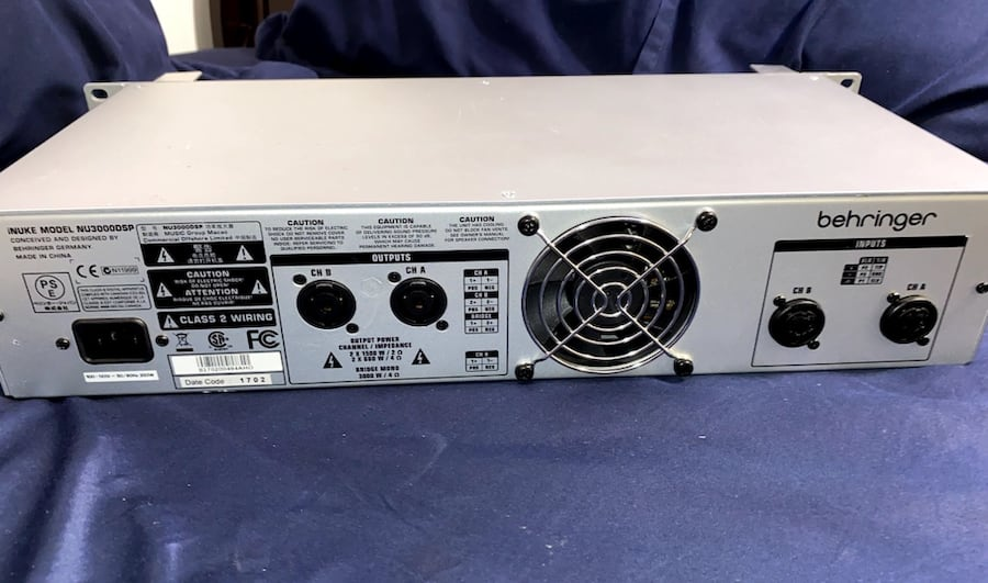 High-Density 3000Watt Power Amplifier with DSP Control & USB Interface bdf7e23b-4e2d-401c-a903-7995a60fc00e