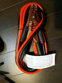 Red and black jumper cable