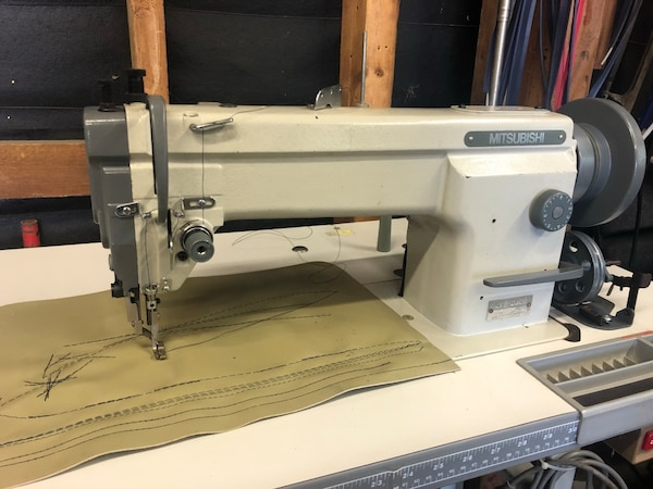 Used Mitsubishi LY4040 Industrial Walking Foot Sewing Machine For Cool Mitsubishi Sewing Machine For Sale