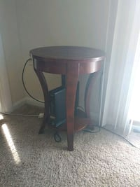 brown wooden side table with drawer District Heights, 20747