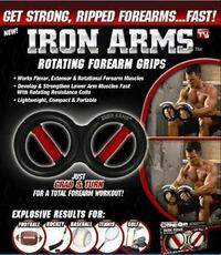 IRON ARMS Rotating Forearm Grips Montgomery Village, 20886
