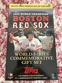 2004 Boston Red Sox World Series Commemorative Trading Card Gift Set