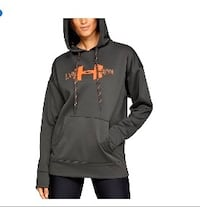 Women's under Armour fleece graphic hoodie size XL gry Windsor, N9B 1A3