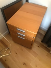 IKEA under desk filing cabinet excellent condition