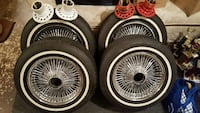 "15"", 100 spoke FWD Player wire wheels Mechanicsville, 20659"