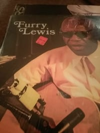 Furry Lewis vinyl album