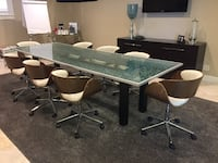 10' x3.7' dining / conference room table