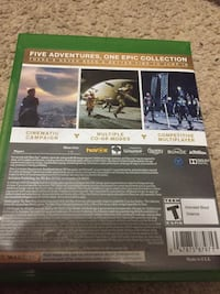Destiny the collection Xbox one edition Purcellville, 20132