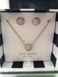 Kate Spade Night Lounge necklace and bracelet set King, L7B 0M4